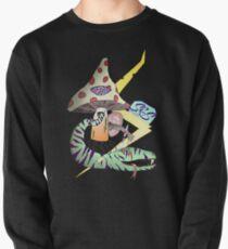 Trippy Mushroom King Snake Lightning Pullover