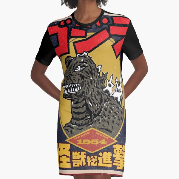 King Of Monsters Graphic T-Shirt Dress
