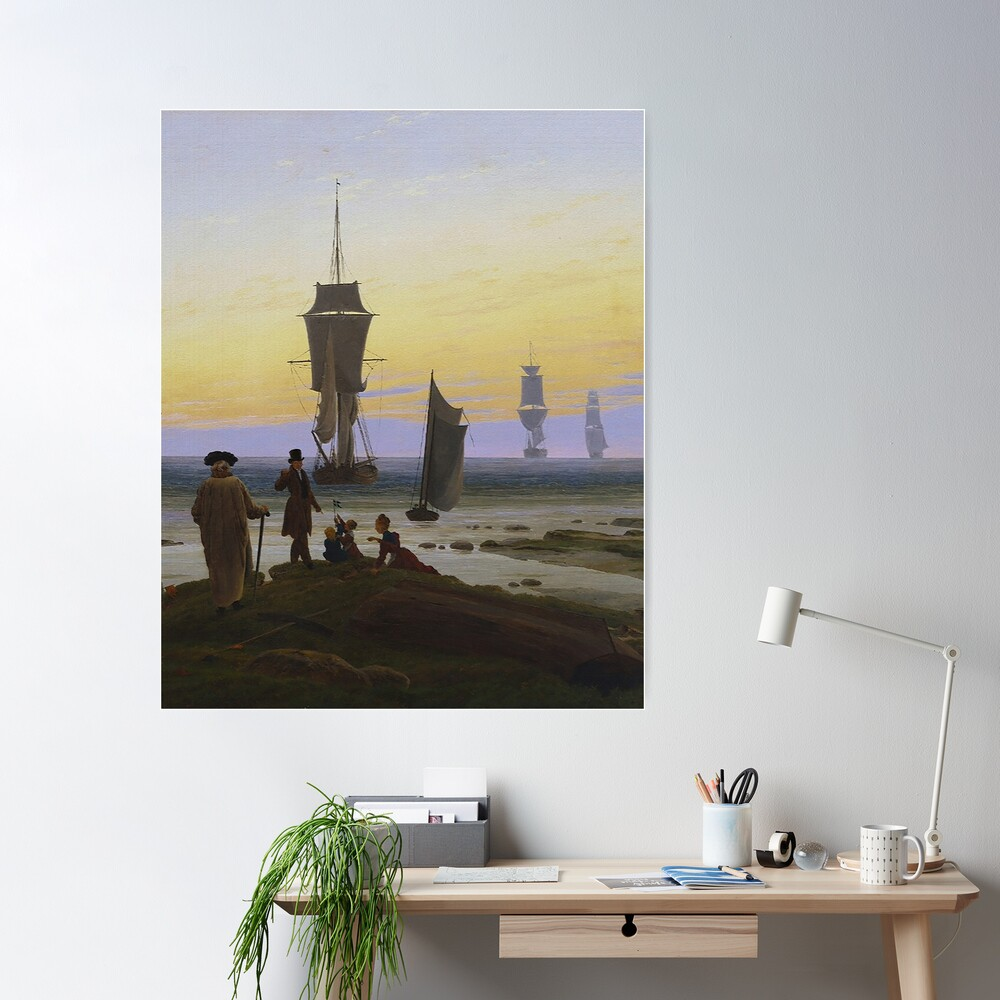 Life Stages...by Caspar Friedrich Poster