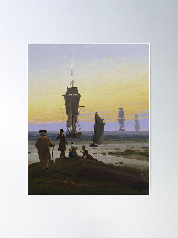 Alternate view of Life Stages...by Caspar Friedrich Poster