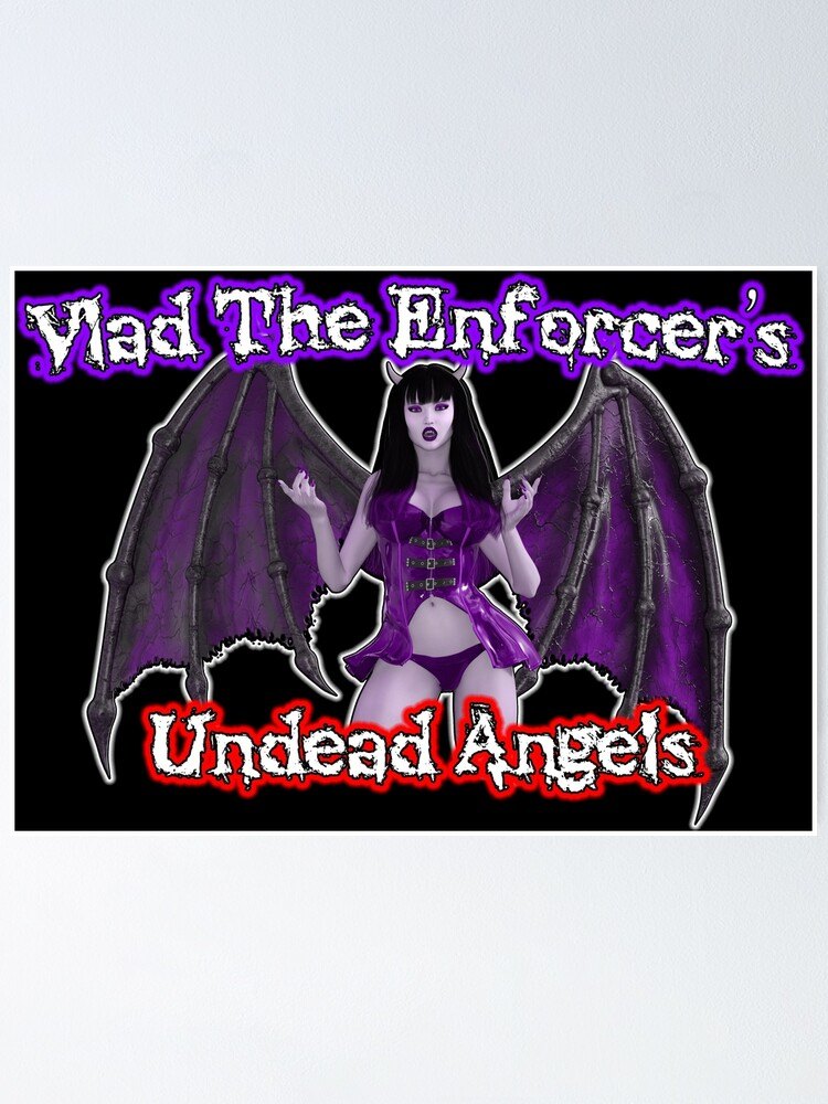 Alternate view of Undead Angels: Logo Poster