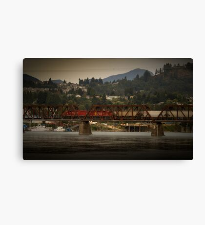 Mission Train  Canvas Print