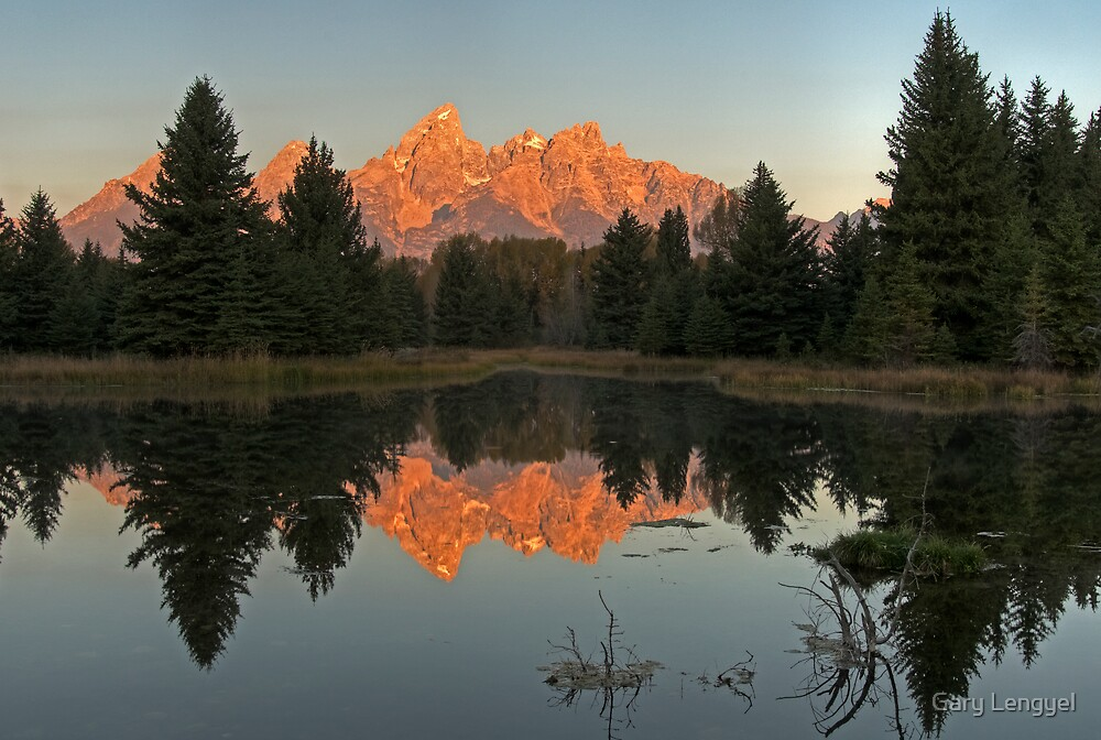 The Grand Tetons by Gary Lengyel