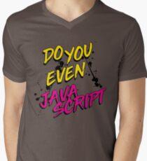 DO YOU EVEN JAVASCRIPT Men's V-Neck T-Shirt