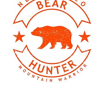 New Mexico Bear Hunter, Distressed by bgcreative