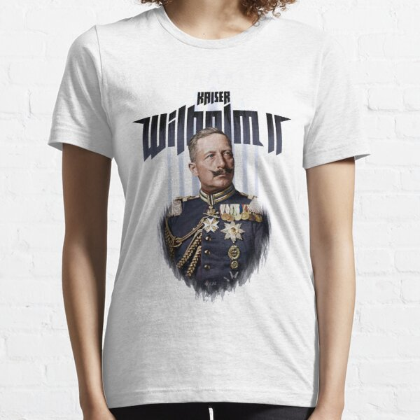 Kaiser Wilhelm II, 1908 colorized art Essential T-Shirt