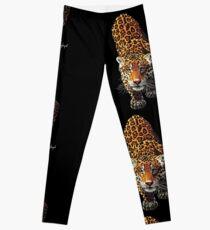 Stalking Leopard Leggings