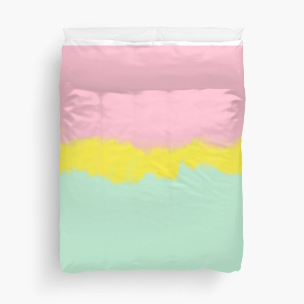 The Pink Paradise Duvet Cover