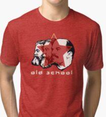 MARX ENGELS LENIN OLD SCHOOL  Tri-blend T-Shirt
