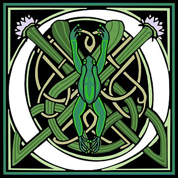 Nouveau Frog Letter O 2018 by Donnahuntriss