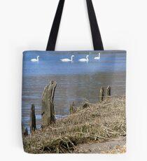 Swan River Tote Bag