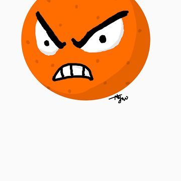 Angry Orange by Hawkstar