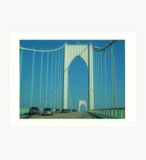Newport Bridge I Art Print