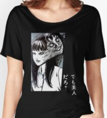 Camiseta ancha para mujer Tomie Junji Ito collection