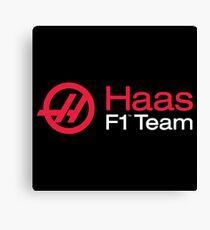 Haas F1 Team Canvas Print
