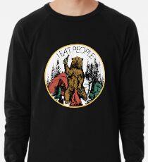 Kampierendes Wandern Ich hasse Leute, die ich Leute-Bärn-T-Shirt essen Leichtes Sweatshirt