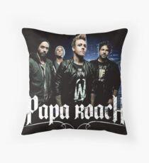 papa crew roach tour 2018 more biang Throw Pillow