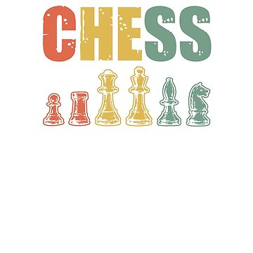 Vintage Chess V2 by TeeTimeGuys