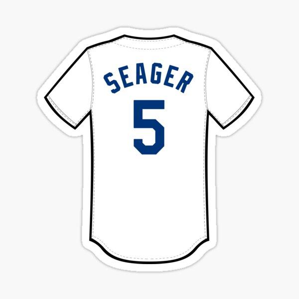Corey Seager Jersey Sticker