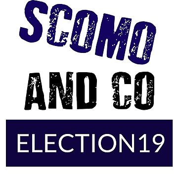 SAY NO TO SCOMO AND CO \ FOR LIGHT BACKGROUNDS by 1termtony