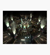 Final Fantasy VII - Central Photographic Print