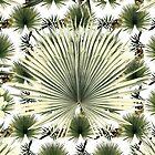 Bloom with tropical dark leaf by hutofdesigns