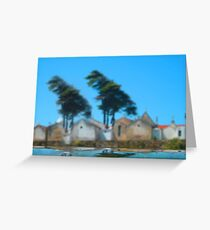 Aveiro cemetery!.... Greeting Card