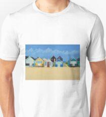 Hengistbury Beach Huts - c Unisex T-Shirt