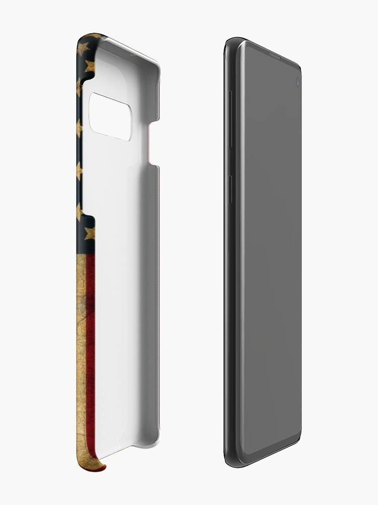 Alternate view of Vintage American Flag Case & Skin for Samsung Galaxy