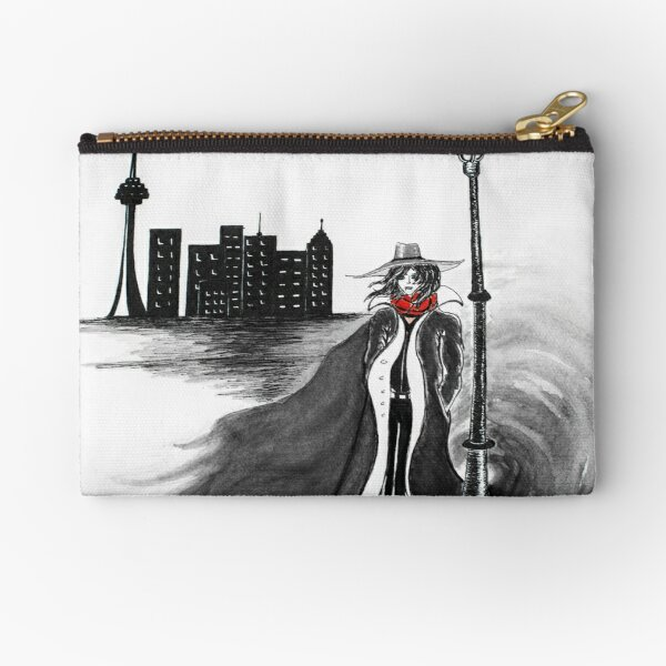 Detective Docherty and the Demon's Tears  Zipper Pouch