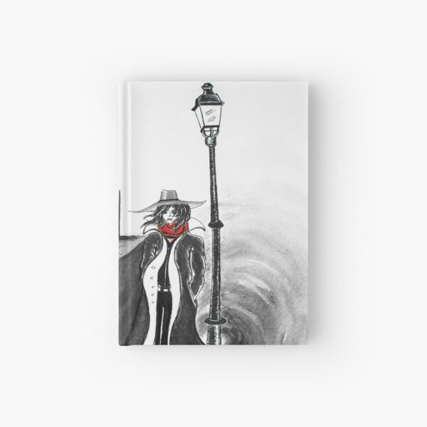 Detective Docherty and the Demon's Tears  Hardcover Journal