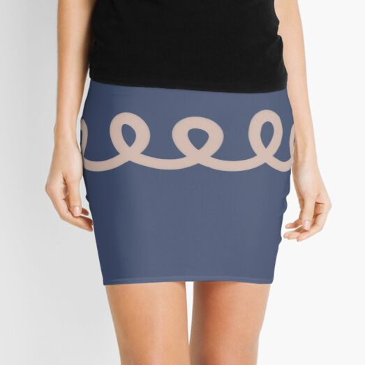 We Are Connected Mini Skirt