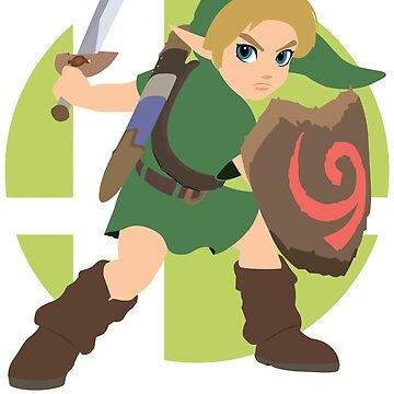 Young Link - Super Smash Bros. Ultimate by PrincessCatanna