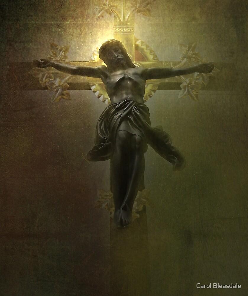 Crucifix by Carol Bleasdale