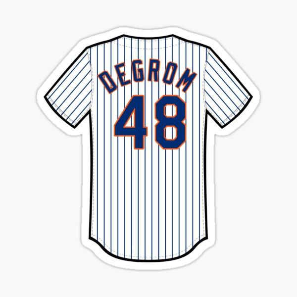 Jacob deGrom Jersey Sticker