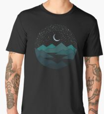 Between The Mountains And The Stars Men's Premium T-Shirt