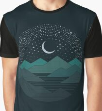 Between The Mountains And The Stars Graphic T-Shirt