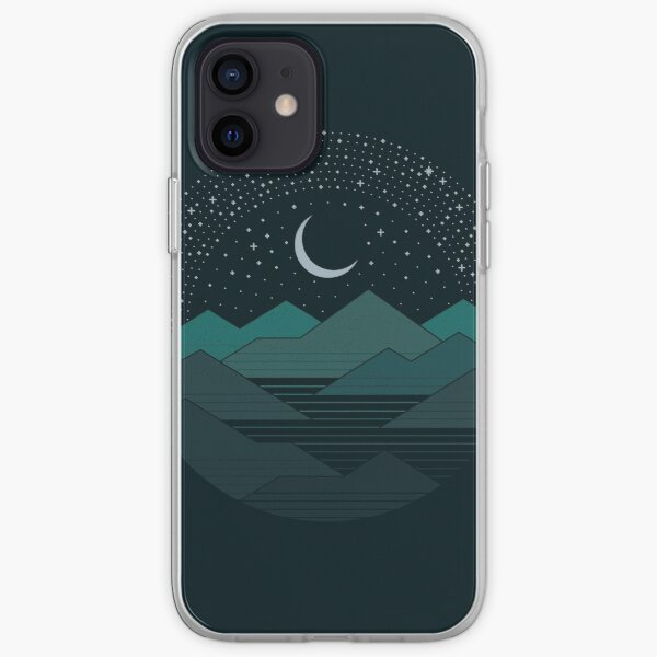 Between The Mountains And The Stars iPhone Soft Case