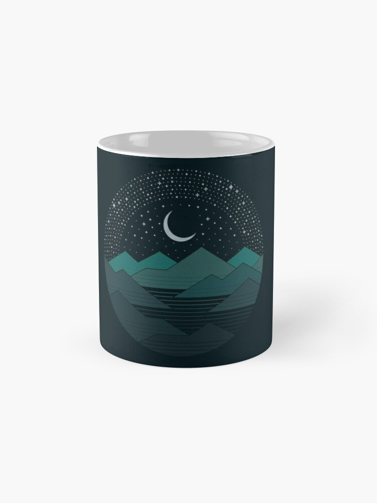 Alternate view of Between The Mountains And The Stars Mug