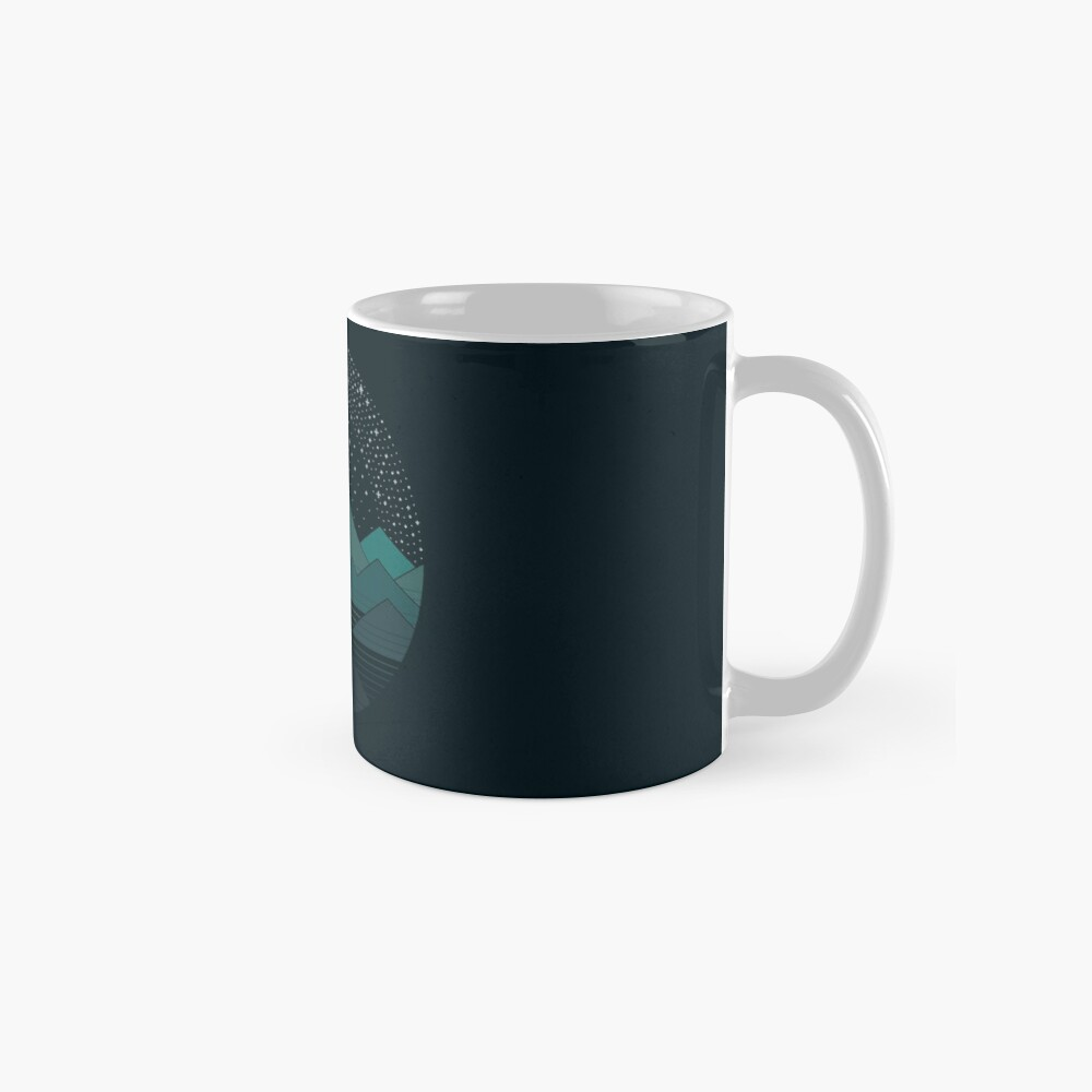 Between The Mountains And The Stars Mug