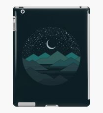 Between The Mountains And The Stars iPad Case/Skin