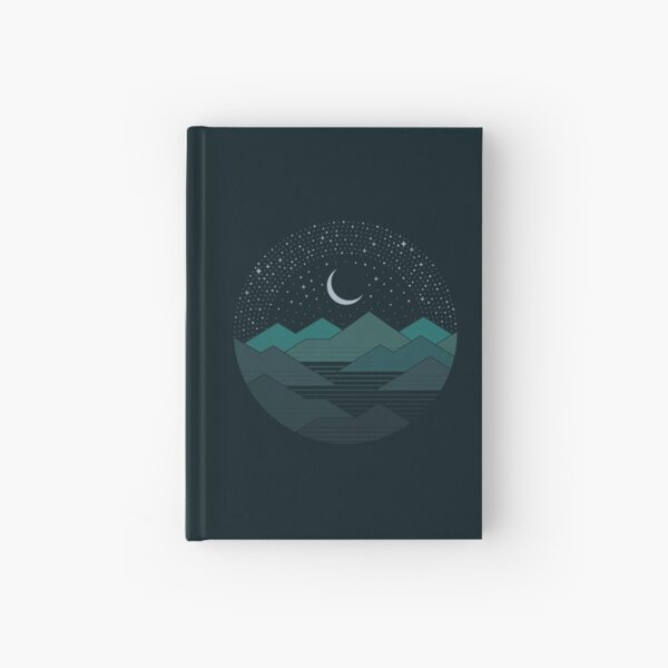Between The Mountains And The Stars Hardcover Journal