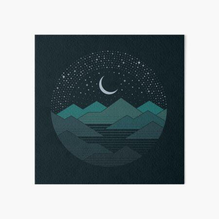Entre las montañas y las estrellas Lámina rígida