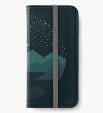 Between The Mountains And The Stars iPhone Wallet/Case/Skin