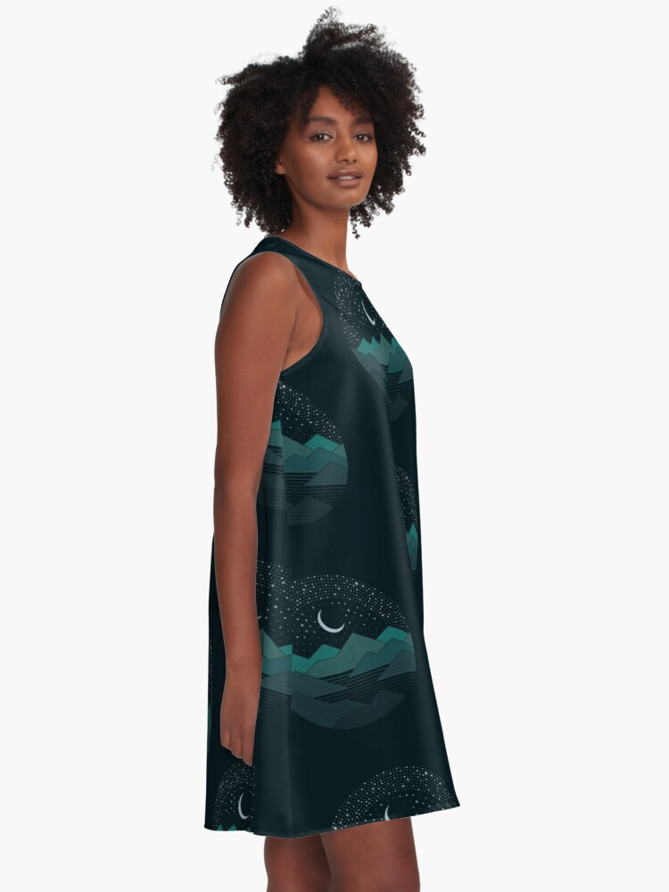 Alternate view of Between The Mountains And The Stars A-Line Dress