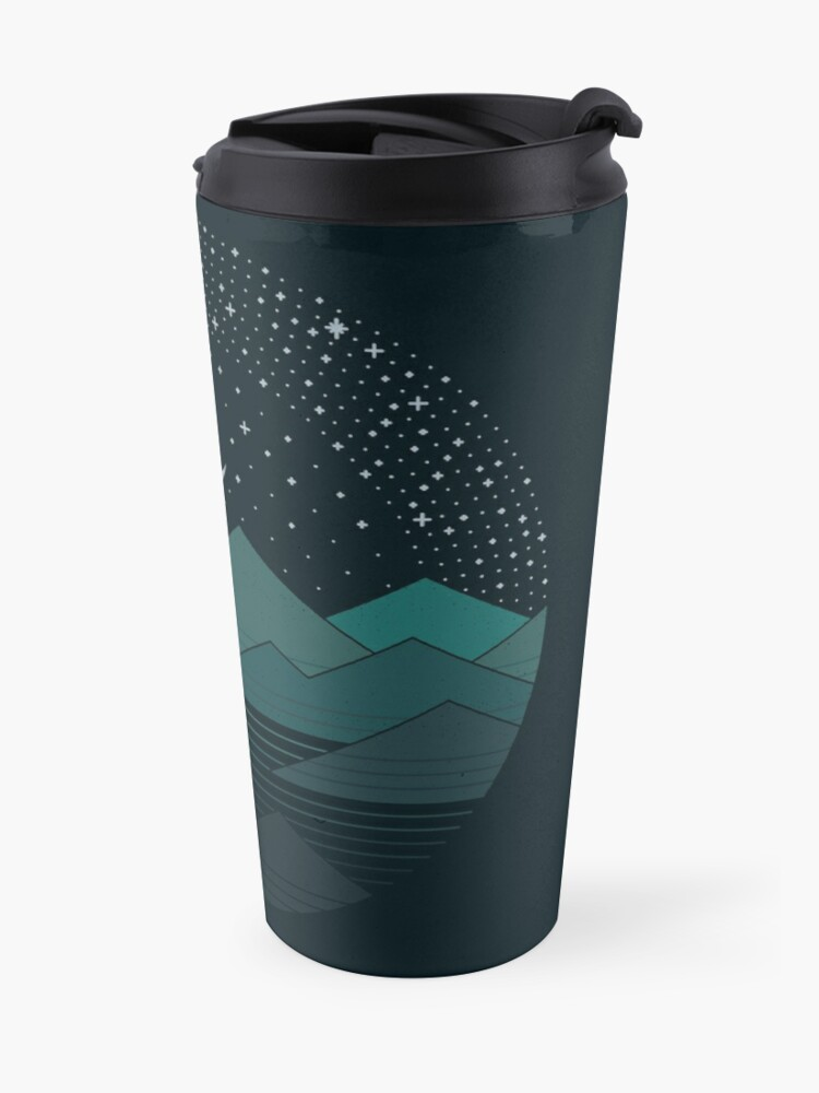 Alternate view of Between The Mountains And The Stars Travel Mug