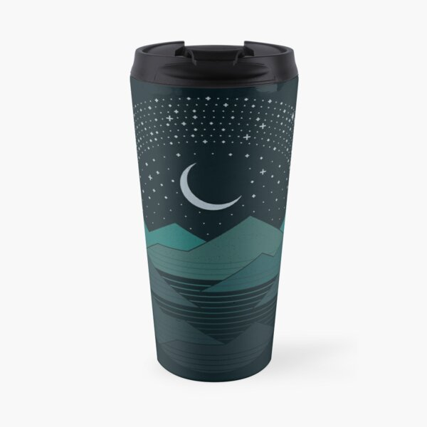 Between The Mountains And The Stars Travel Mug