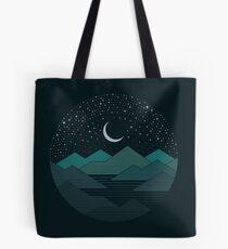 Bolsa de tela Entre las montañas y las estrellas