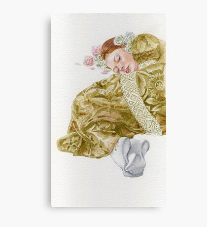 Young lady-Country girl.. Canvas Print