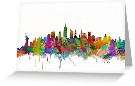New York City Skyline von Michael Tompsett